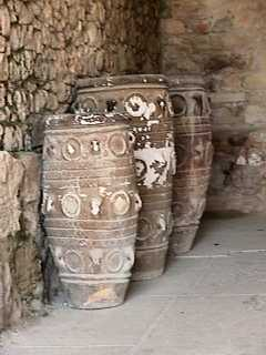 Knossos - 3 storage jars