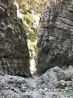 Imbros Gorge - 2nd narrows